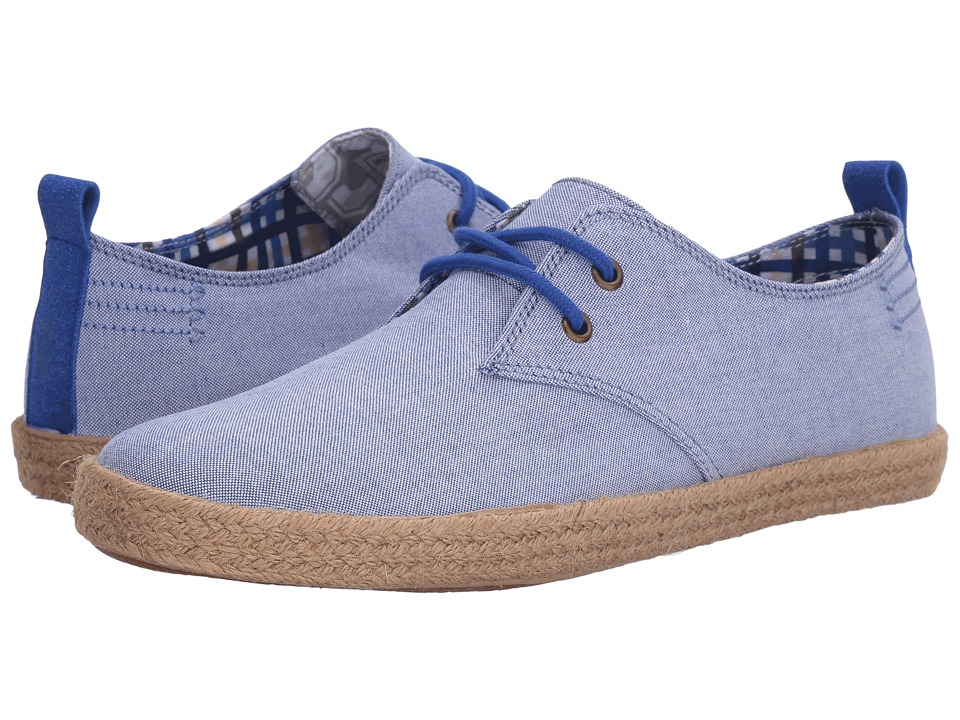 Ben Sherman - New Prill Lace-Up (Blue Chambray) Men's Lace up casual Shoes