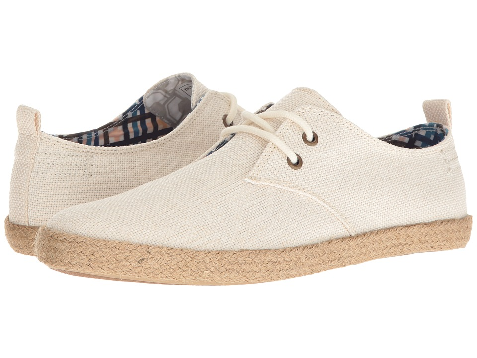 Ben Sherman - New Prill Lace-Up (Off-White Linen) Men's Lace up casual Shoes
