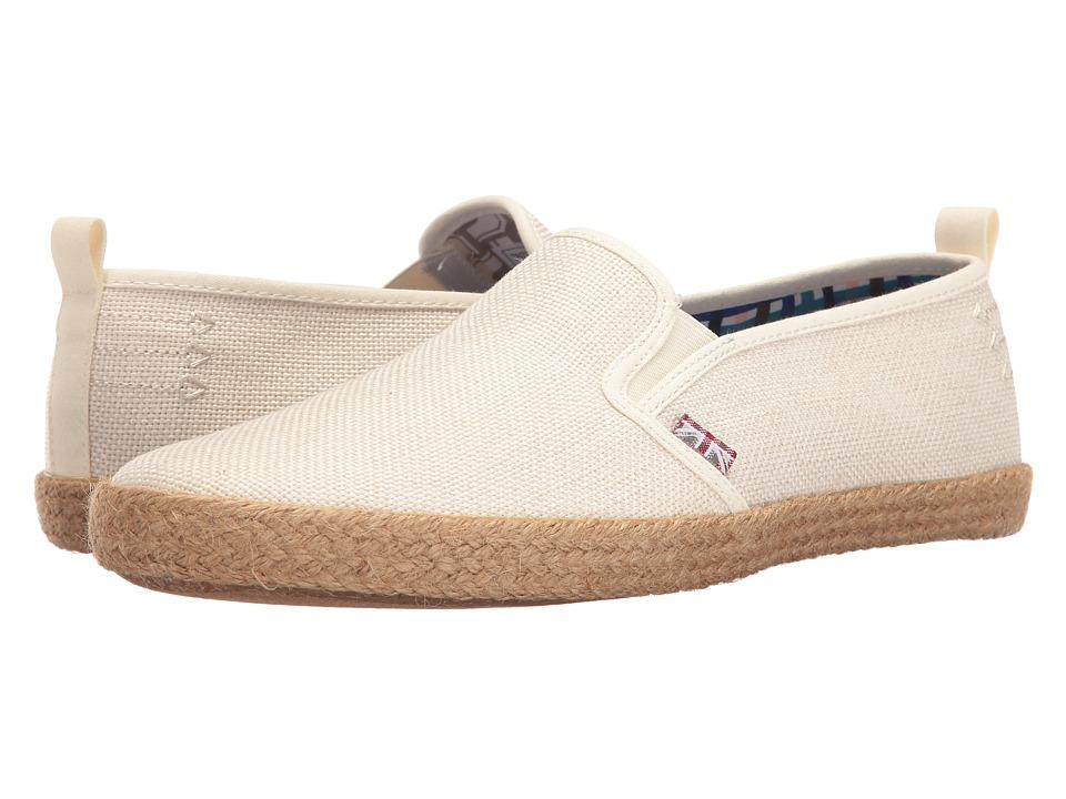 Ben Sherman - New Prill Slip-On (Off-White) Men's Slip on Shoes