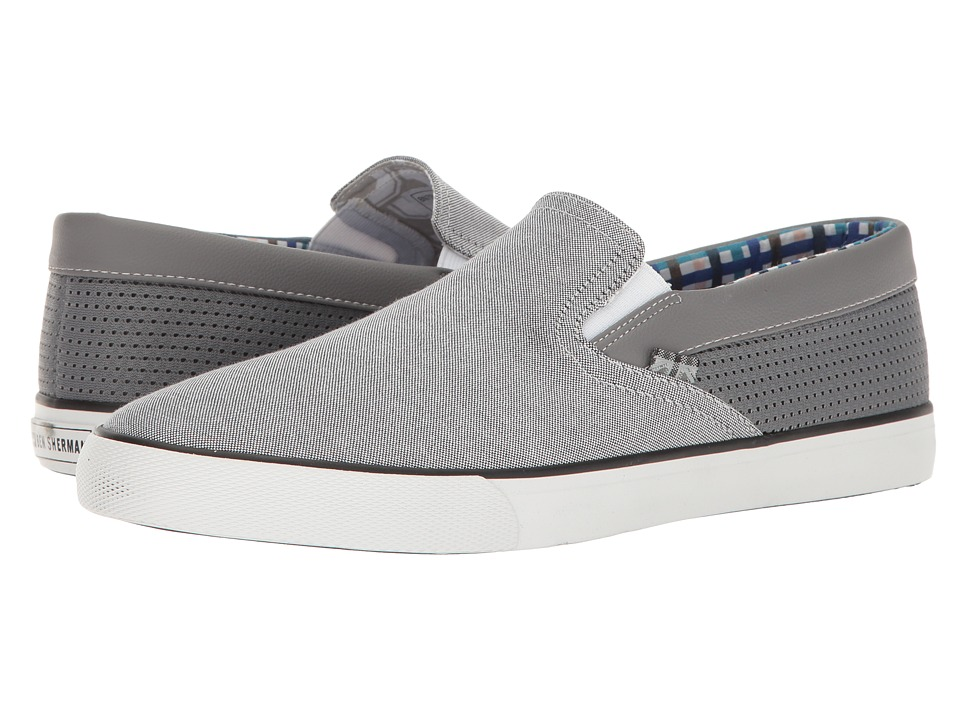 Ben Sherman Pete Slip-On (Grey Chambray) Men