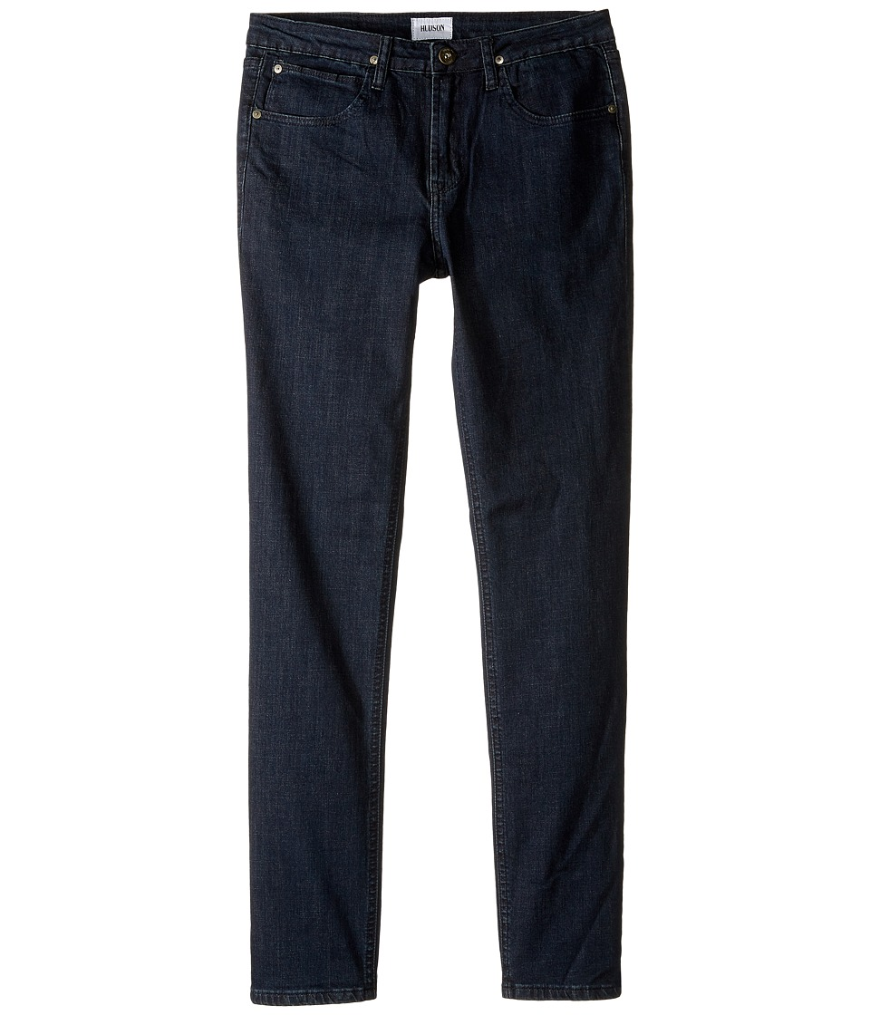Hudson Kids - Jagger Slim Straight Five-Pocket Jeans in Midnight Raw (Big Kids) (Midnight Raw) Boy's Jeans