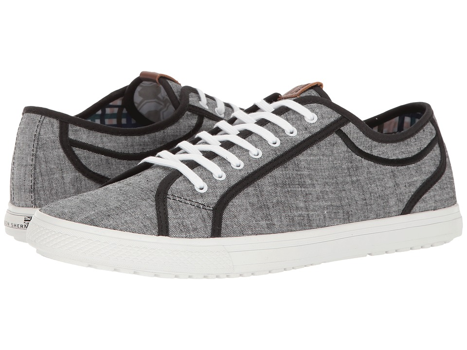 Ben Sherman Chandler Lo (Black Chambray) Men