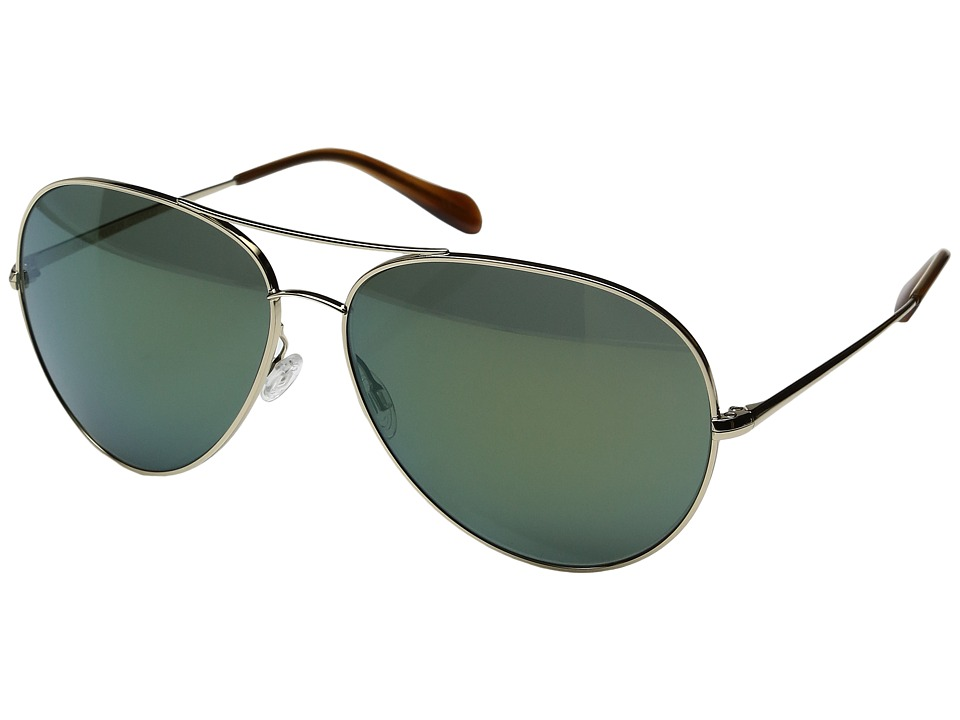 Oliver Peoples - Sayer (Gold/G15 Mirror) Fashion Sunglasses