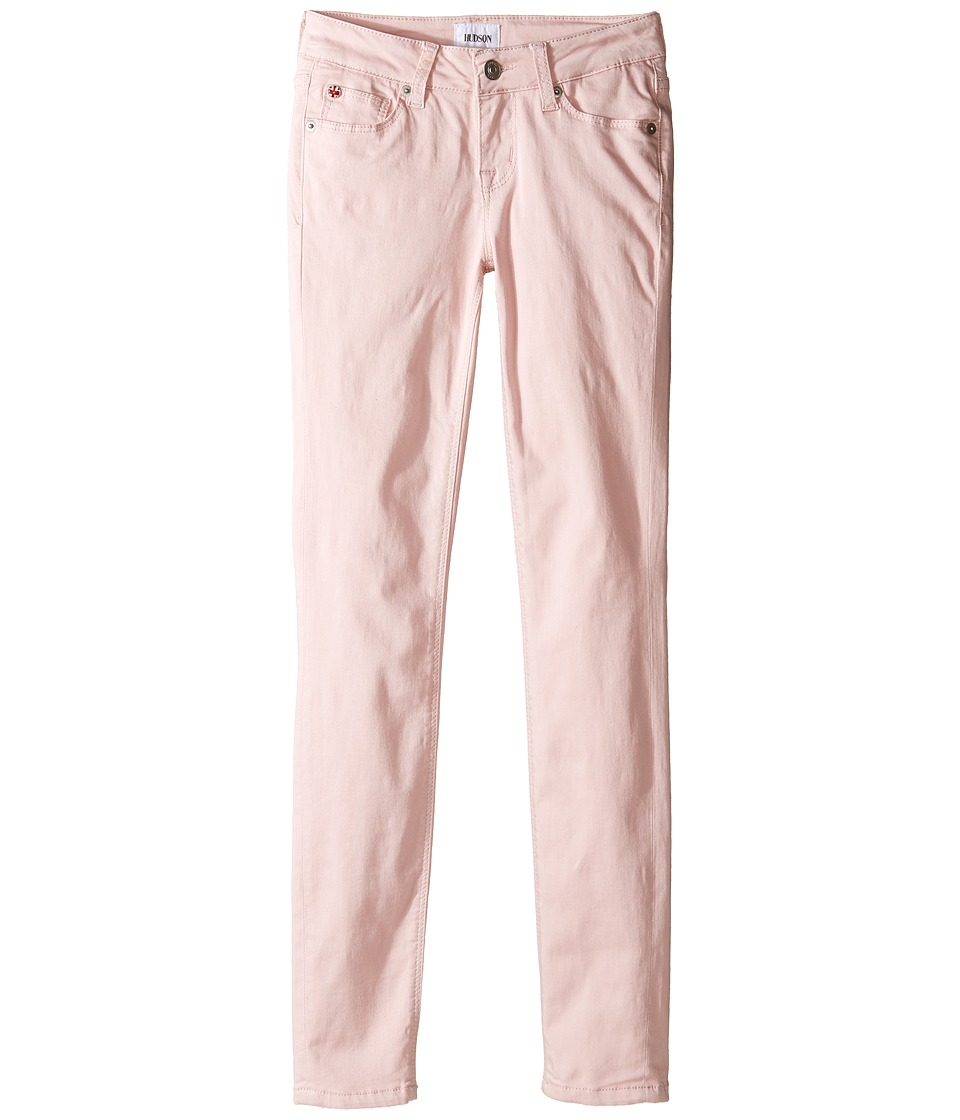 Hudson Kids - Dagger Five-Pocket Skinny Brushed Sateen Jeans in Pinkie (Big Kids) (Pinkie) Girl's Jeans