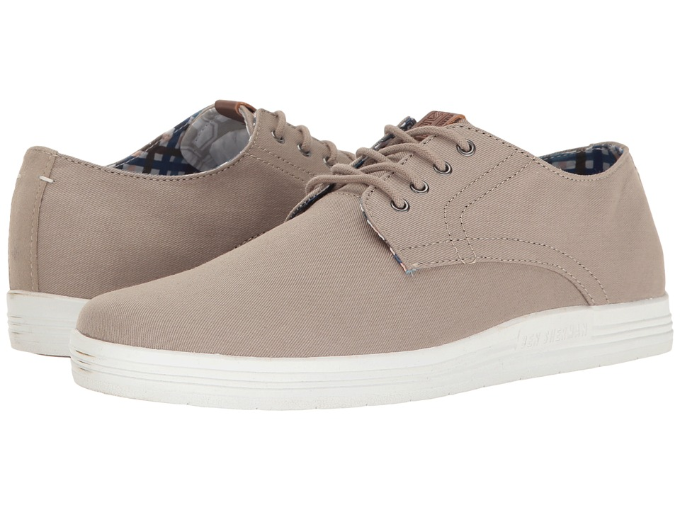 Ben Sherman - Payton (Light Grey) Men's Lace up casual Shoes