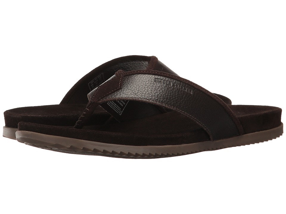 Ben Sherman - Milo Thong (Brown Leather) Men's Sandals