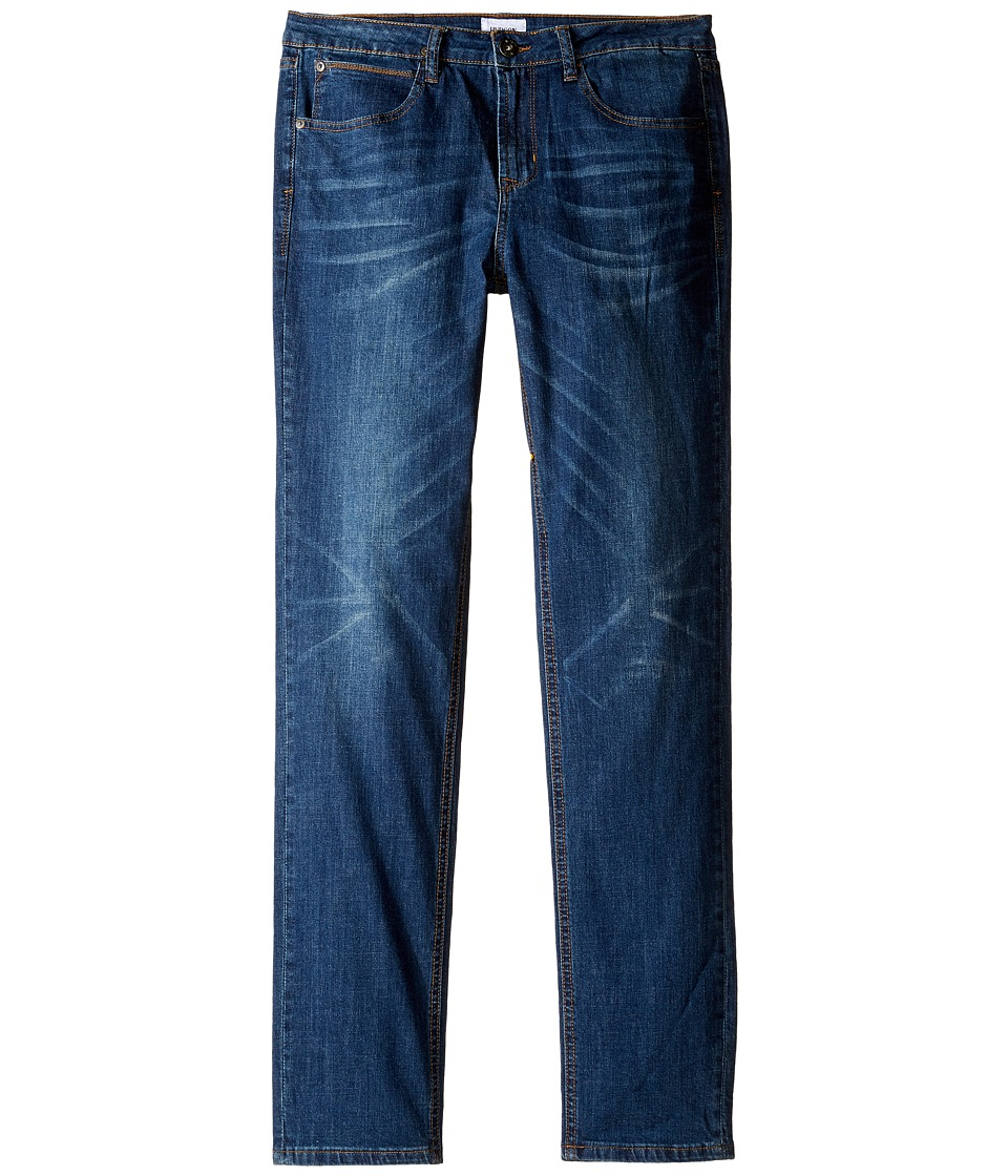 Hudson Kids - Jagger Slim Straight Five-Pocket Jeans in Gritty Grass (Big Kids) (Gritty Grass) Boy's Jeans