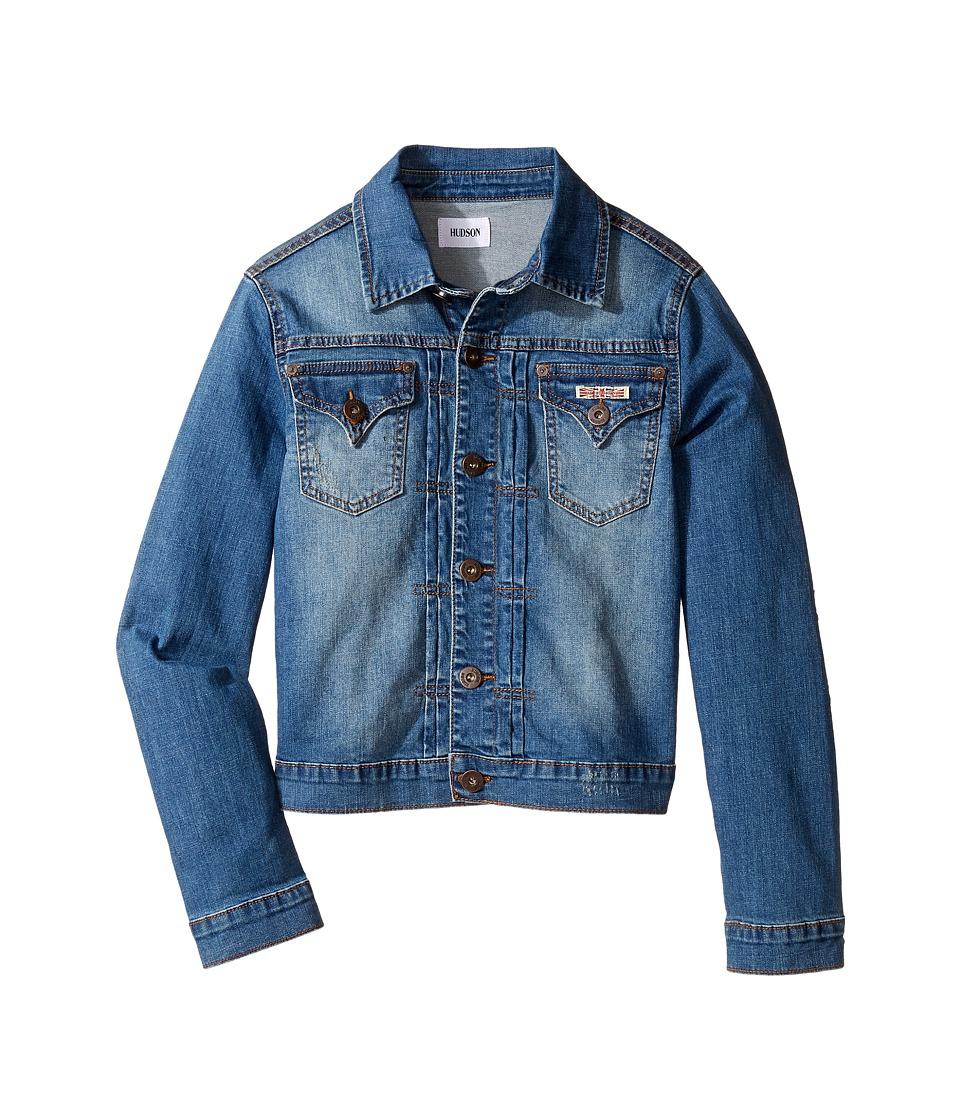 Hudson Kids - Denim Jacket with Patchwork (Big Kids) (Superman) Boy's Coat