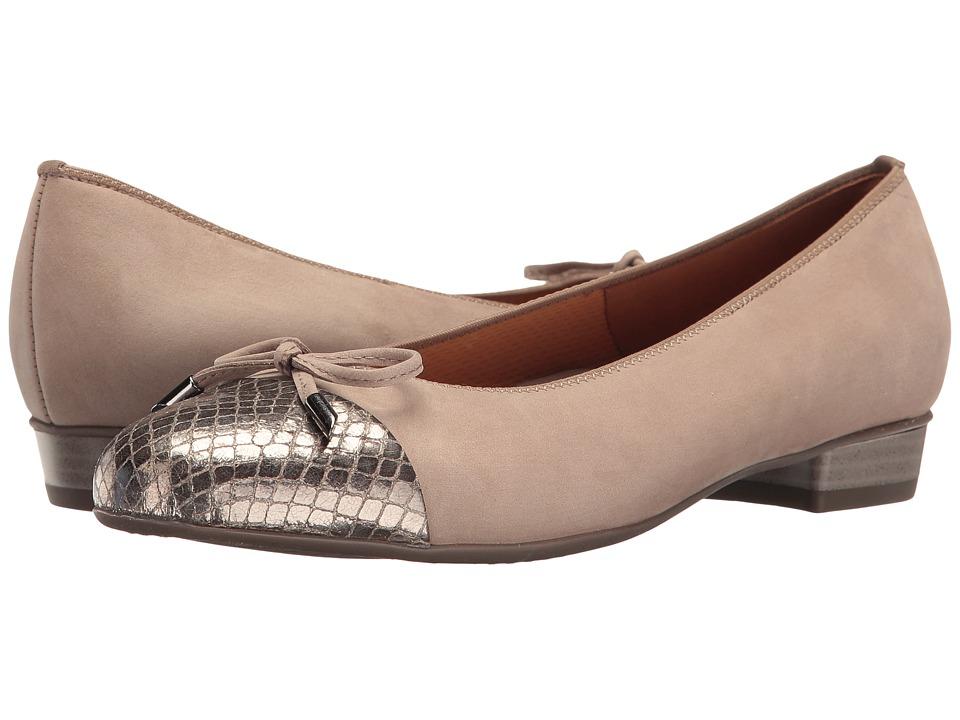 ara - Betty (Taupe/Vipera Combo) Women's Shoes