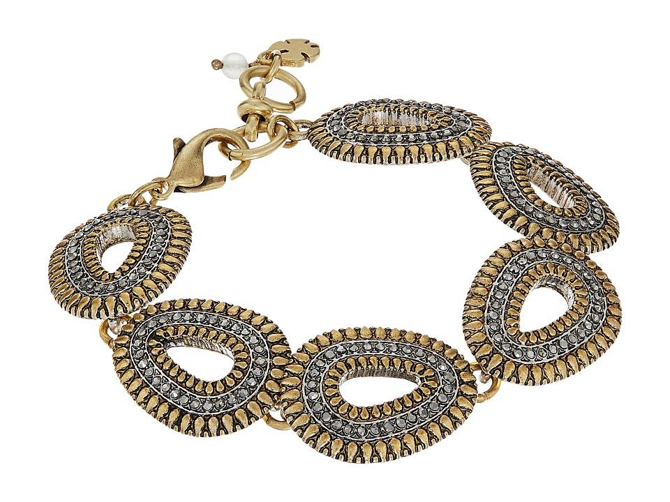 Lucky Brand - Teardrop Bracelet (Two-Tone) Bracelet