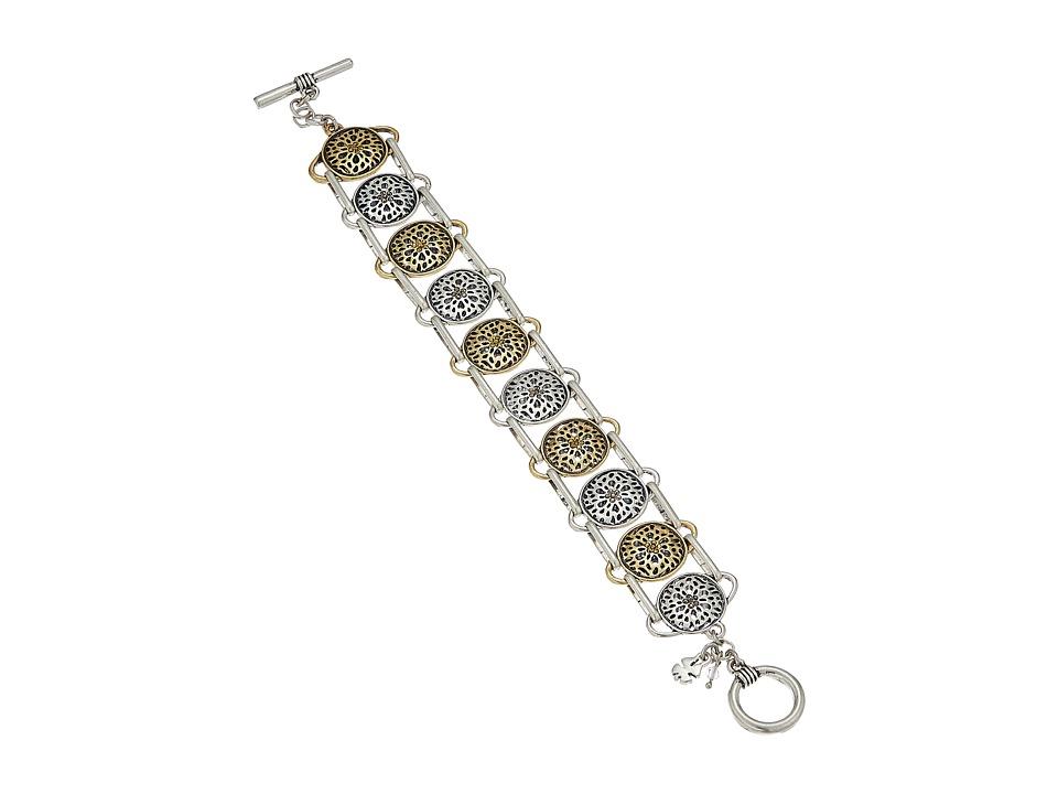 Lucky Brand - Sugarplum Motif Bracelet (Two-Tone) Bracelet