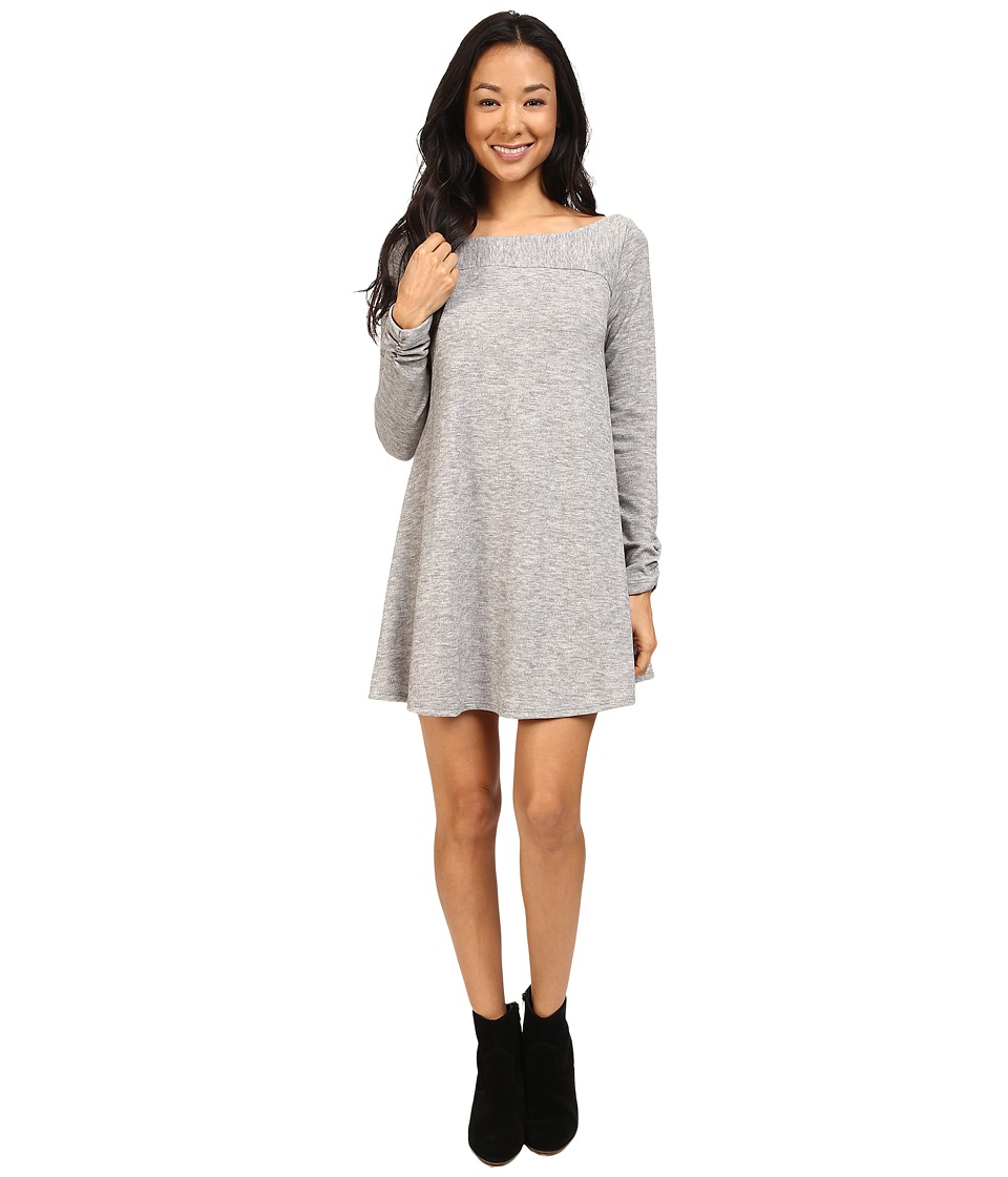 Lucy Love - Chill Dress (Fog) Women's Dress