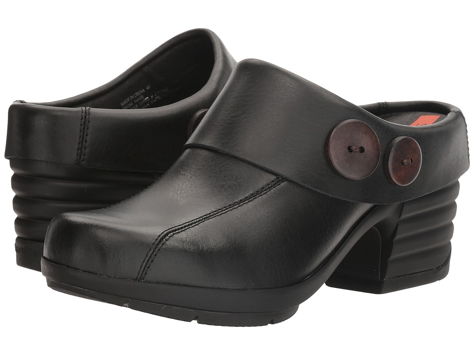 Sanita - Icon Indiana (Black) Women's Clog Shoes