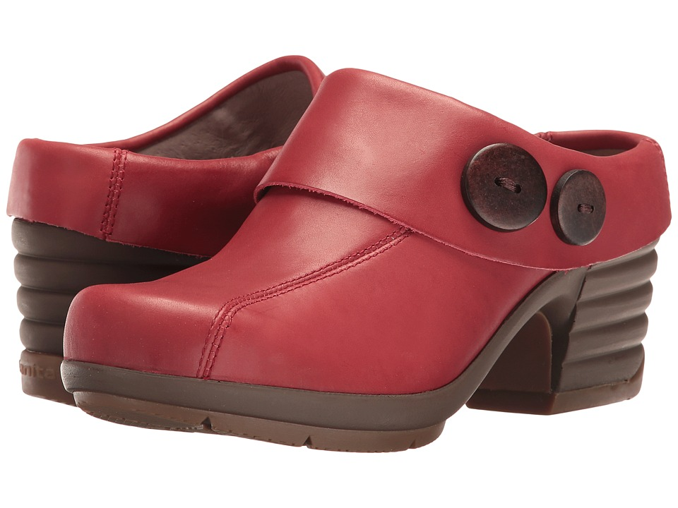 Sanita - Icon Indiana (Red) Women's Clog Shoes
