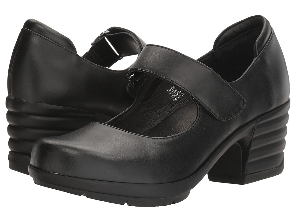 Sanita - Icon Commuter (Black Burnished Leather) Women's Shoes