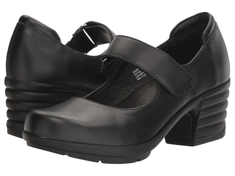 Sanita Icon Commuter (Black Burnished Leather) Women