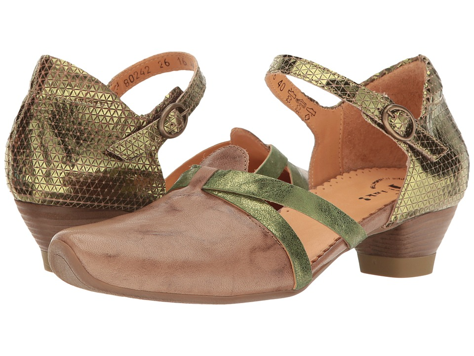 Think! - Aida - 80242 (Taupe) Women's Shoes