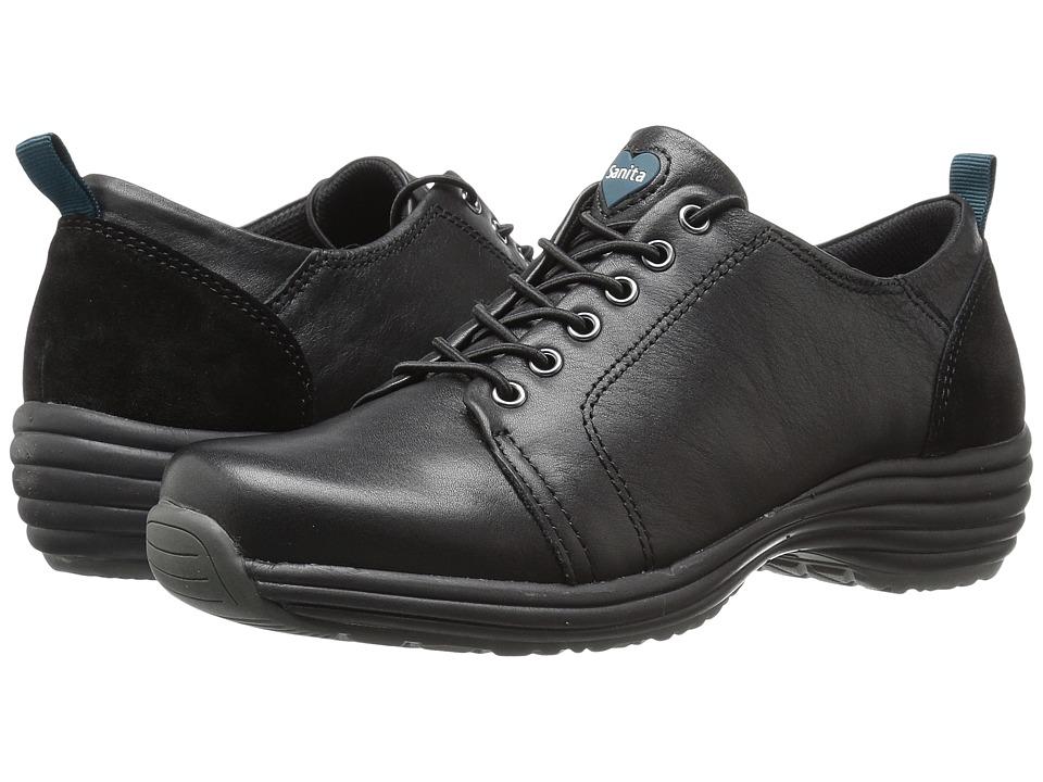 Sanita - Prosper Luxe (Black) Women's Lace up casual Shoes