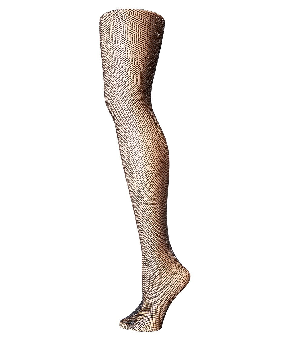 Falke - Lurex Net Tights (Black) Fishnet Hose