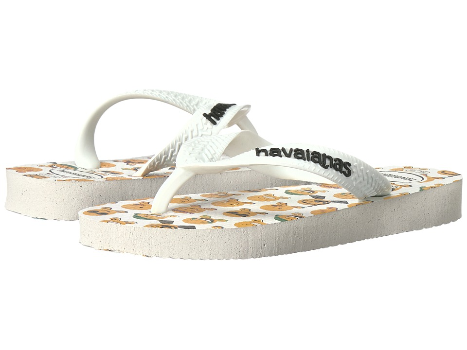 Havaianas Kids - Mood (Toddler/Little Kid) (White/White) Kids Shoes
