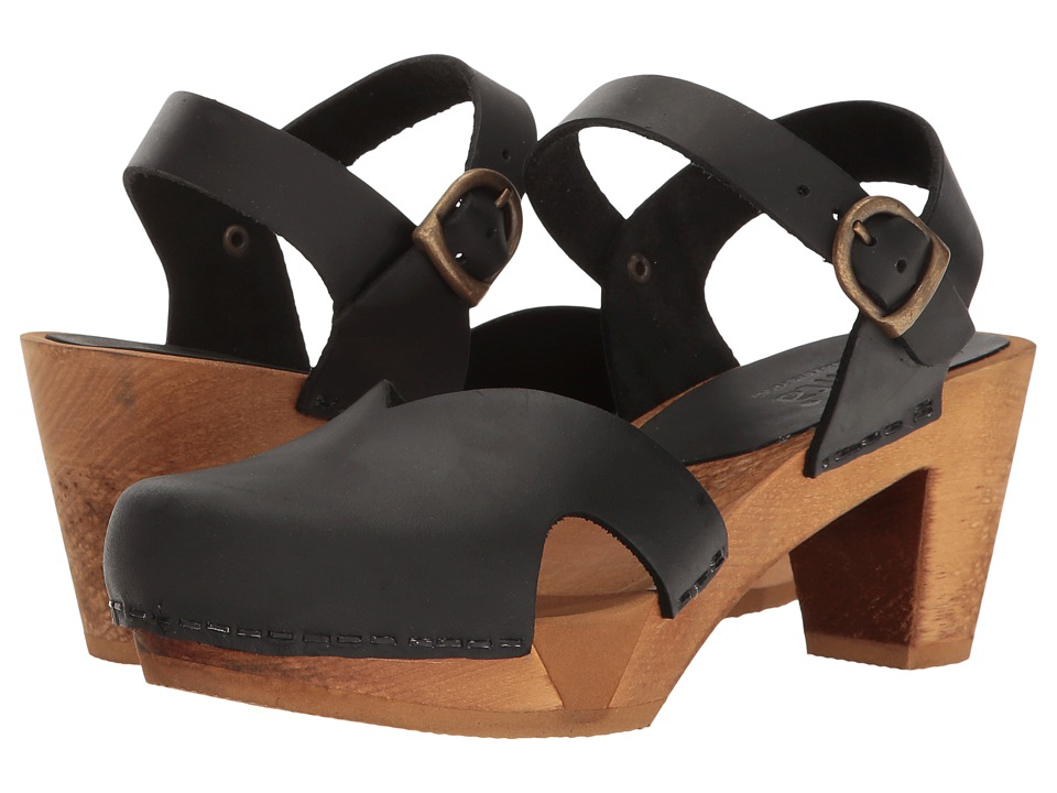 Sanita - Matrix Square Flex Sandal (Black) Women's Sandals
