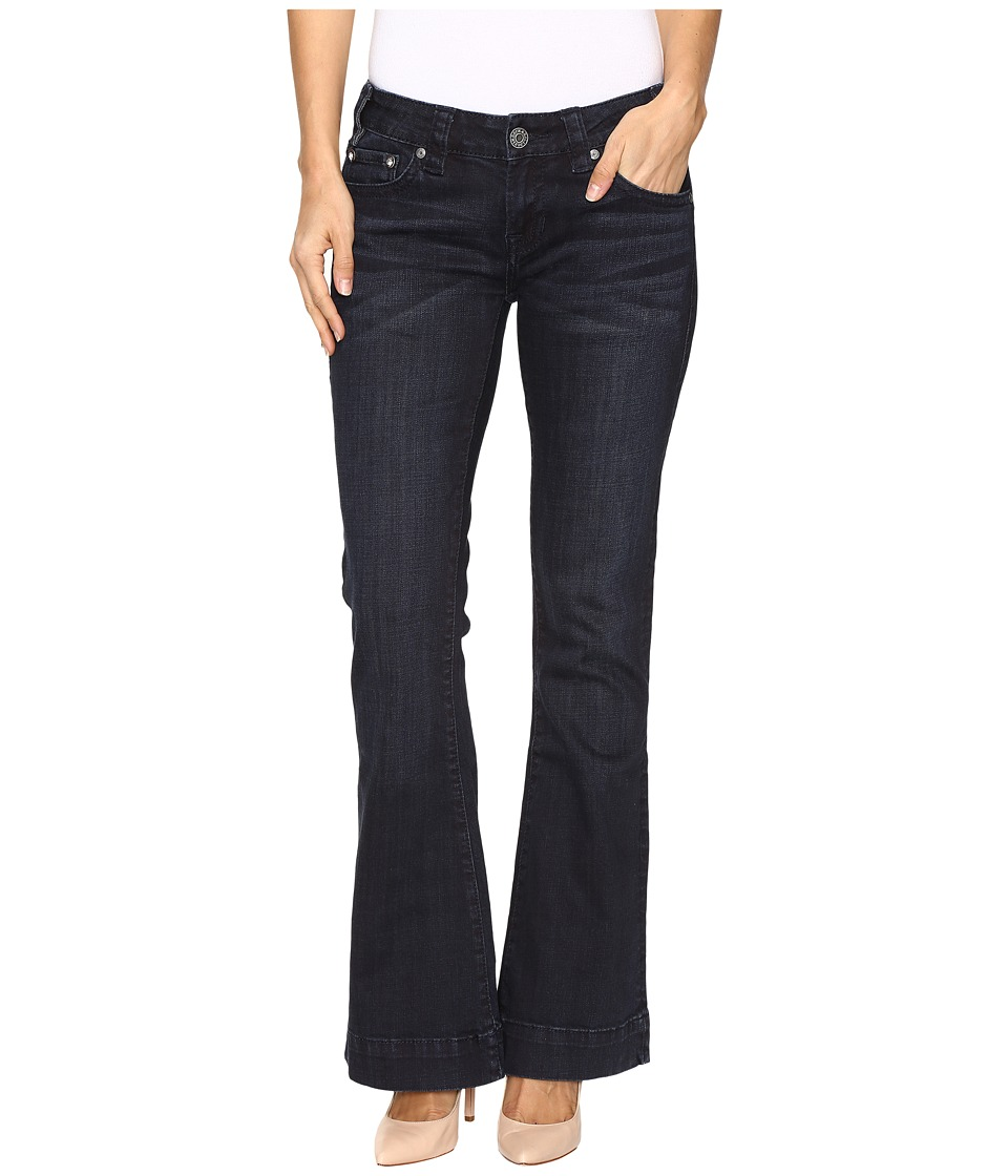 Rock and Roll Cowgirl - Trouser Low Rise Jeans in Dark Wash W8-9630 (Dark Wash) Women's Jeans
