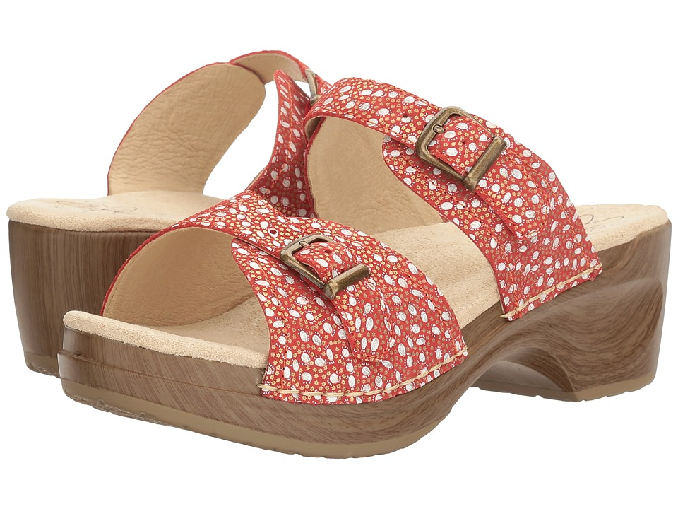 Sanita - Debora (Red Paisley) Women's Shoes