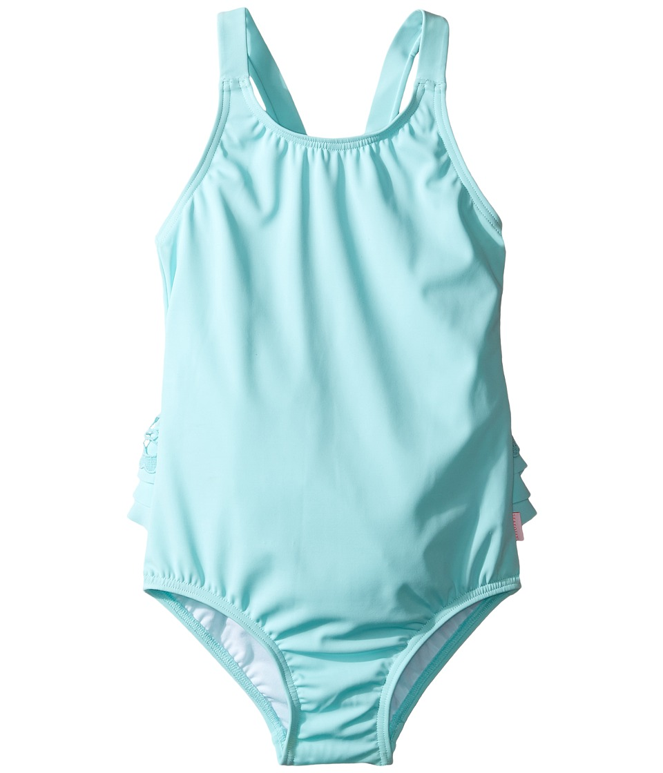 Seafolly Kids - Sweet Summer Tank One-Piece (Infant/Toddler/Little Kids) (Sky Blue) Girl's Swimsuits One Piece