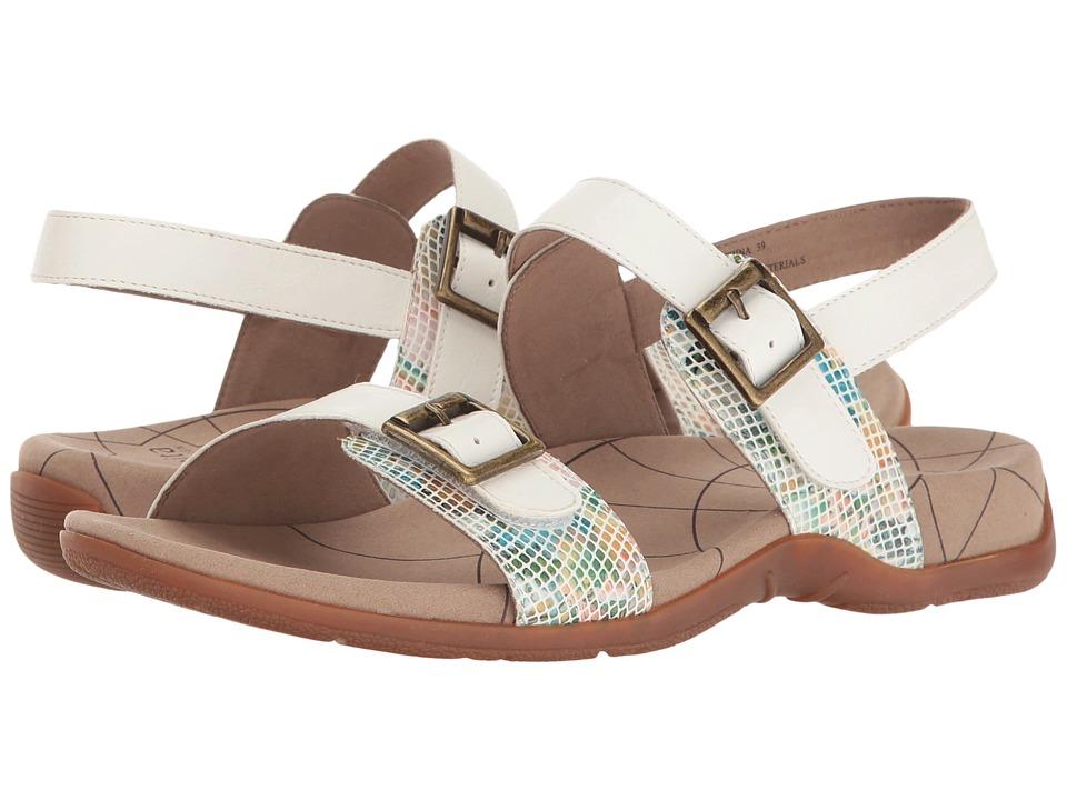 Sanita - Candace (White Snake) Women's Sandals