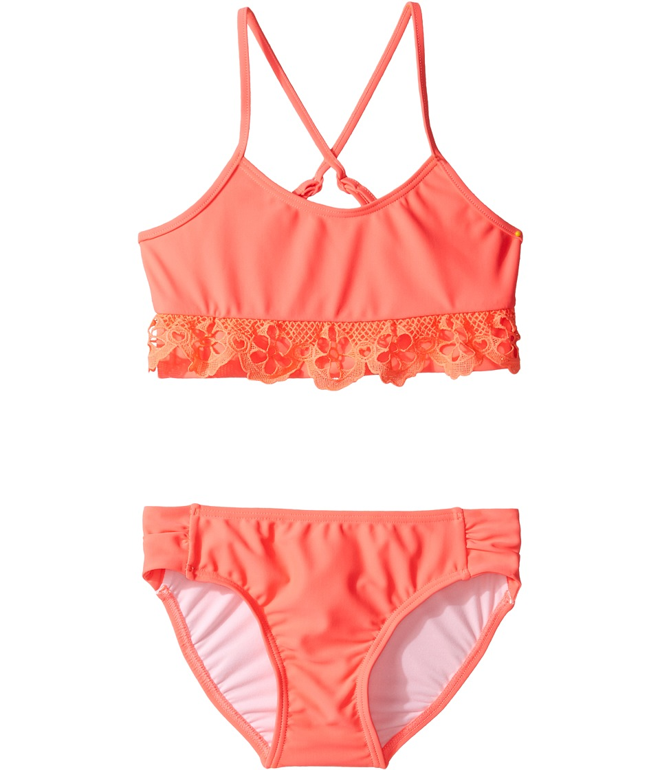 Seafolly Kids - Sweet Summer Tankini Set (Toddler/Little Kids) (Watermelon Pink) Girl's Swimwear Sets