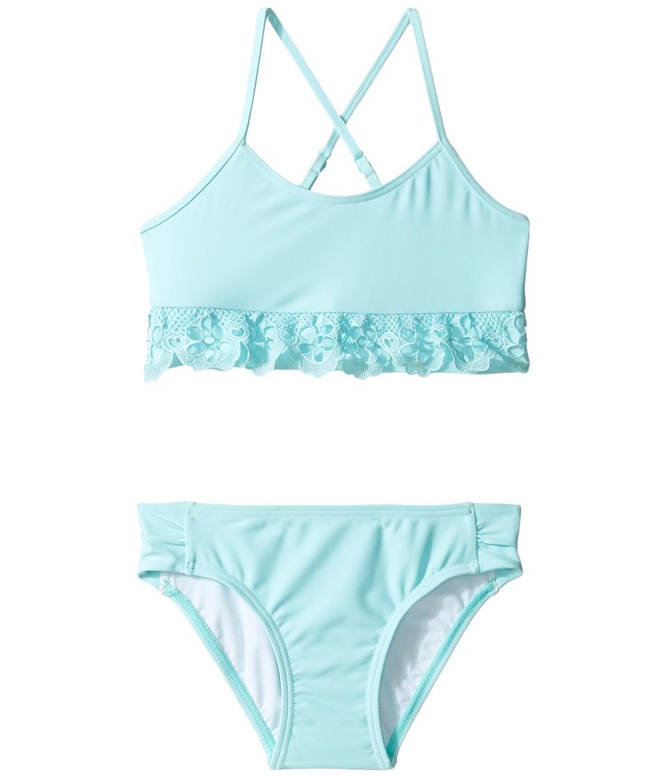 Seafolly Kids - Sweet Summer Tankini Set (Toddler/Little Kids) (Sky Blue) Girl's Swimwear Sets