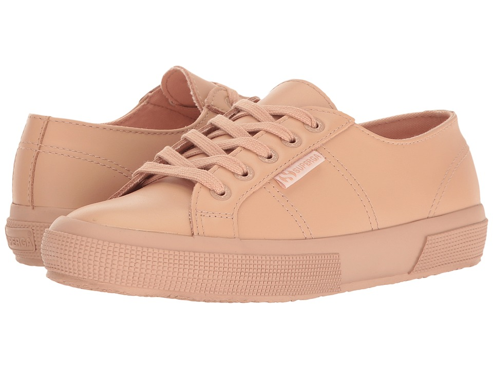 Superga - 2750 FGLU (Blossom Pink Leather) Women's Lace up casual Shoes