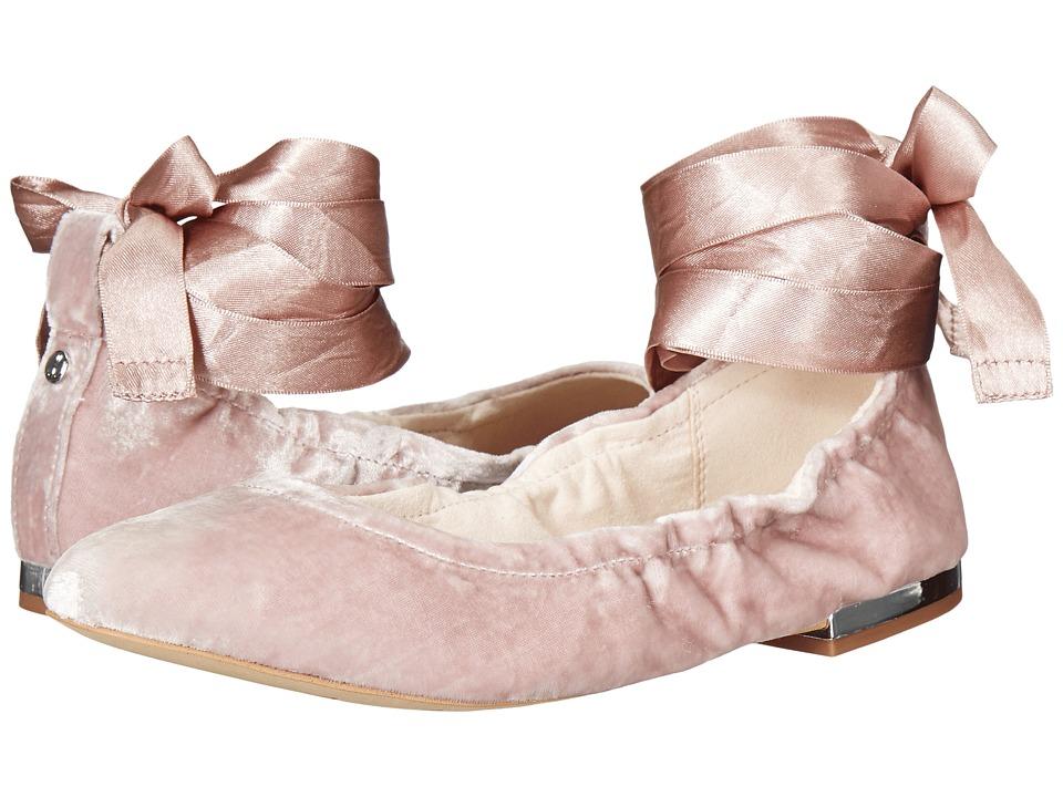 Sam Edelman - Fallon (Pink Mauve Silky Velvet) Women's Dress Sandals