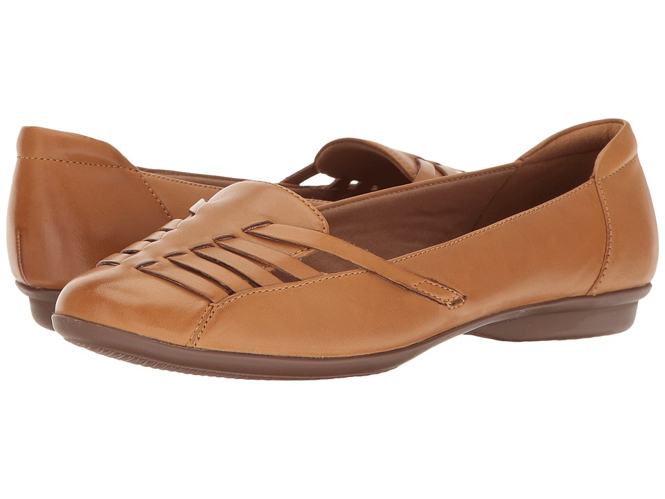 Clarks - Gracelin Gemma (Tan Leather) Women's Shoes