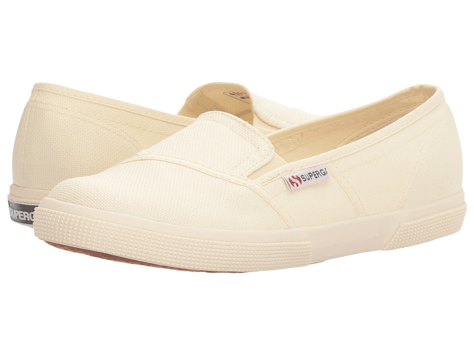 Superga 2210 COTW Slip-On (Ivory Canvas) Women