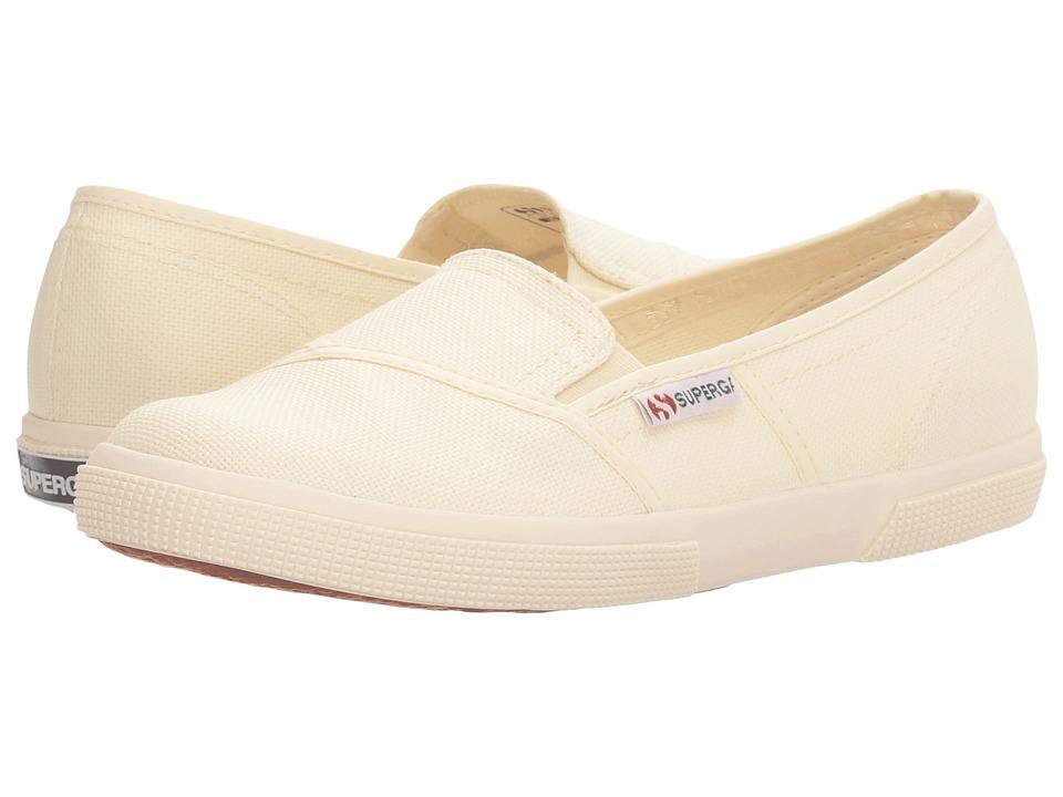 Superga - 2210 COTW Slip-On (Ivory Canvas) Women's Slip on Shoes