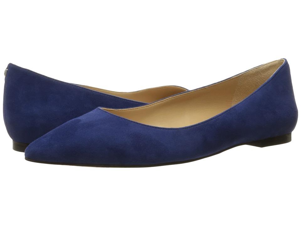 Sam Edelman - Rae (Bandana Blue Kid Suede Leather) Women's Shoes