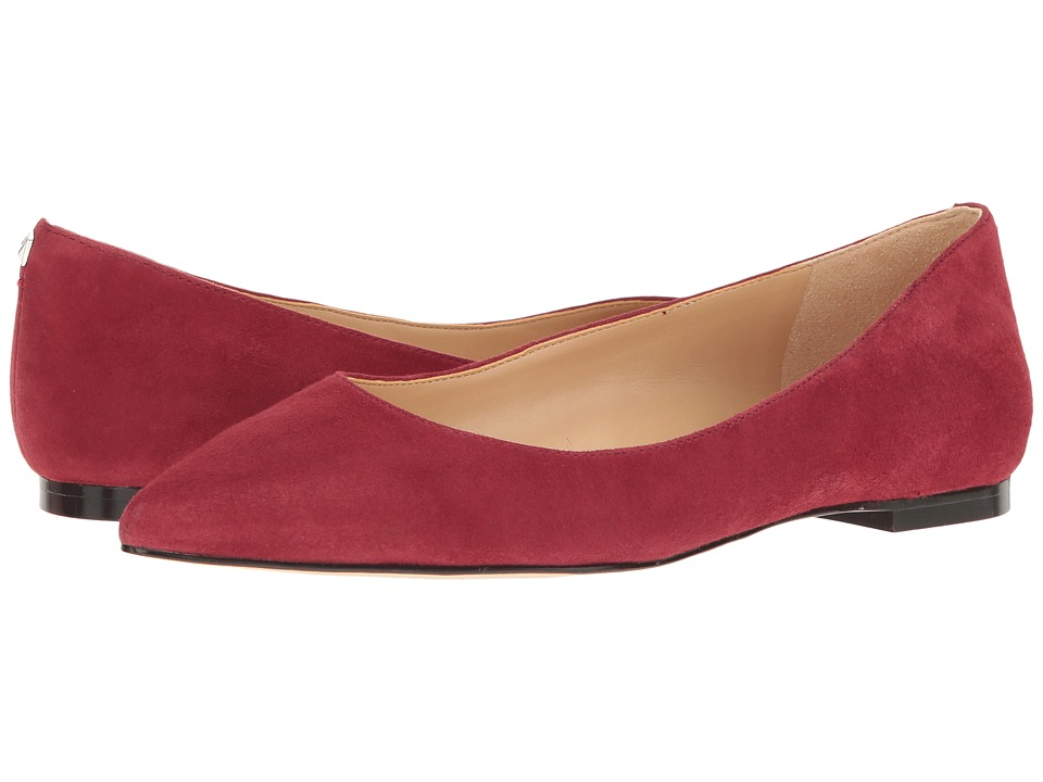 Sam Edelman - Rae (Tango Red Kid Suede Leather) Women's Shoes