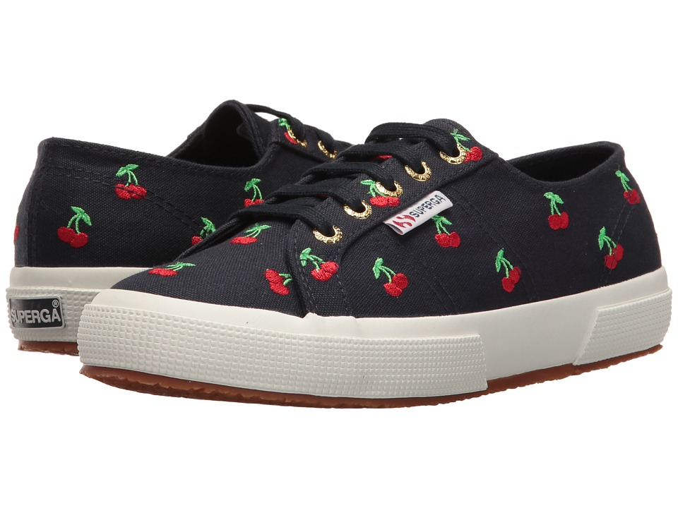 Superga - 2750 Embcotw (Cherries) Women's Lace up casual Shoes