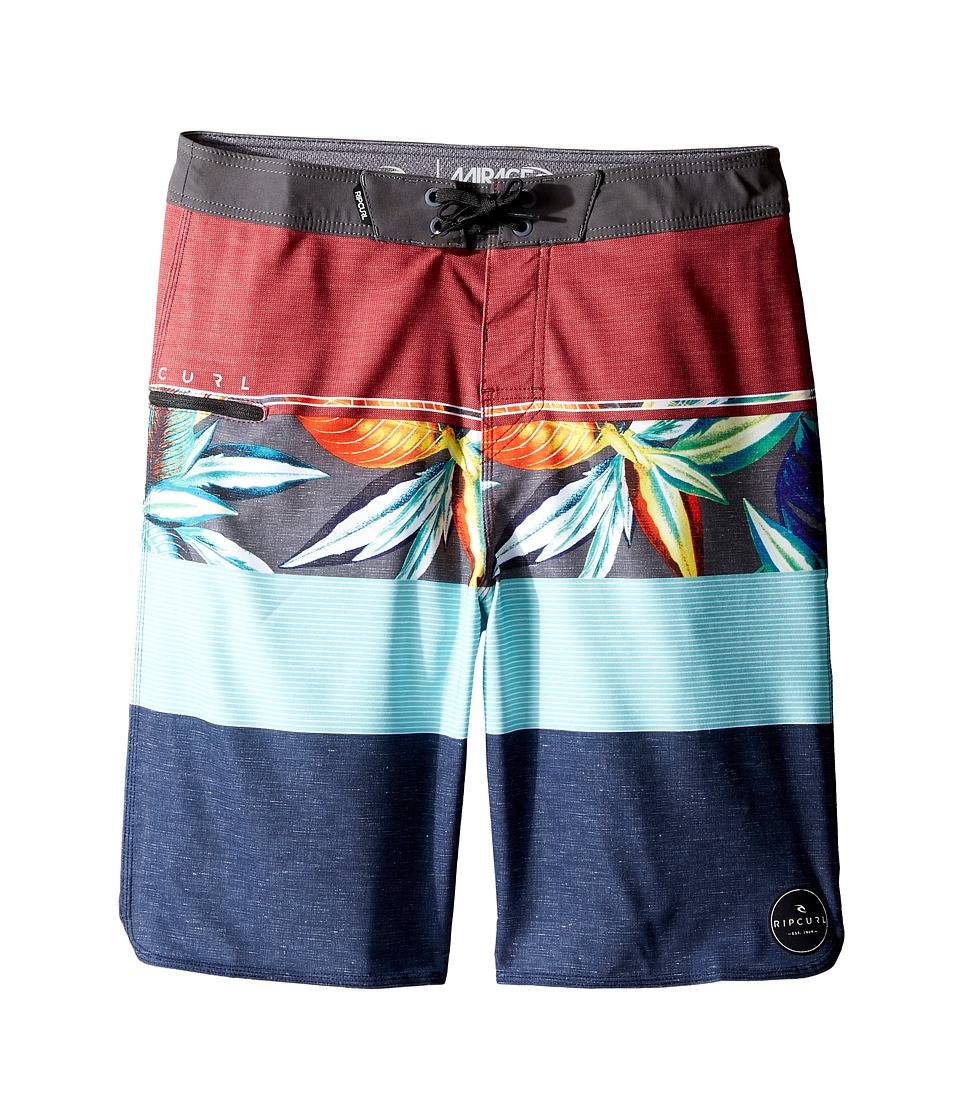 Rip Curl Kids - Mirage Sections Boardshorts (Big Kids) (Red) Boy's Shorts