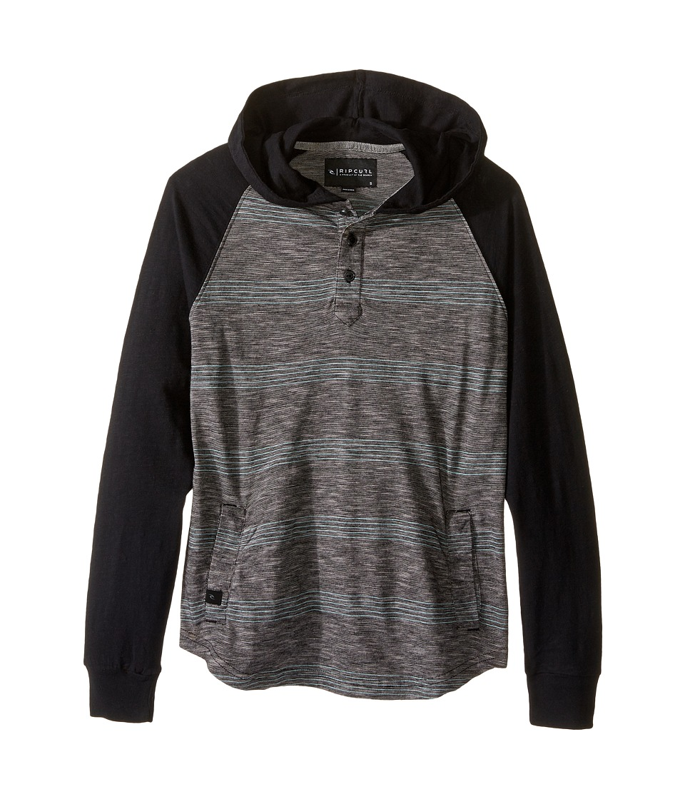 Rip Curl Kids - Skillet Hoodie (Big Kids) (Black) Boy's Sweatshirt