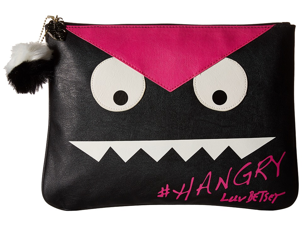 Luv Betsey - Hangry Tablet Pouch (Fuchsia/Black) Wallet