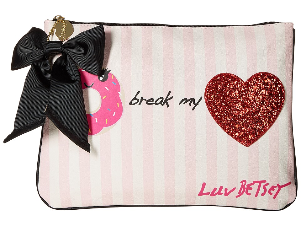 Luv Betsey - Donut Break My Heart Tablet Pouch (Pink) Wallet