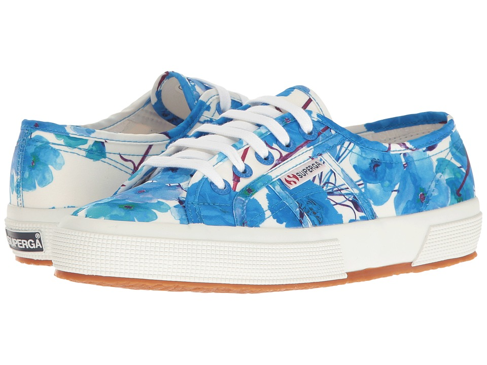 Superga - 2750 Fanmelul W (Blue) Women's Shoes