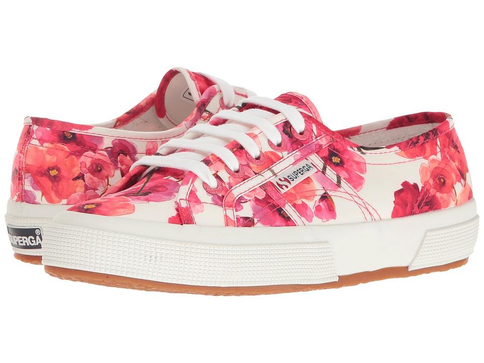 Superga - 2750 Fanmelul W (Red) Women's Shoes