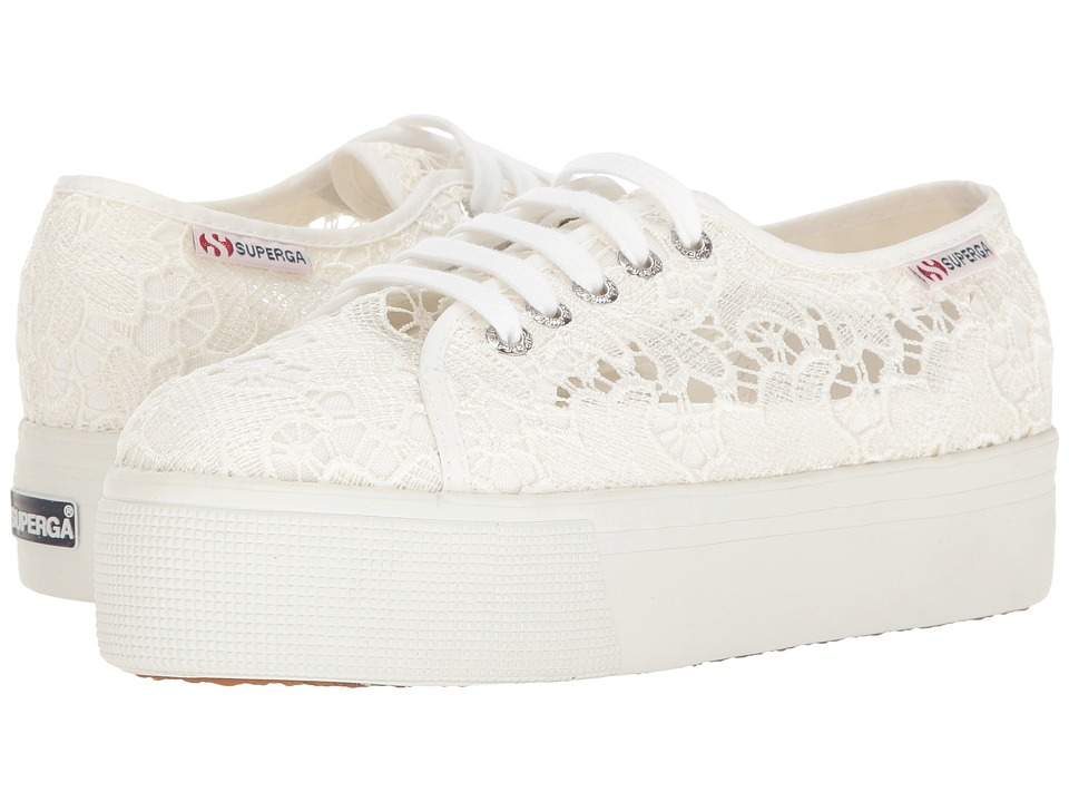 Superga - 2790 Macrame W (White) Women's Shoes