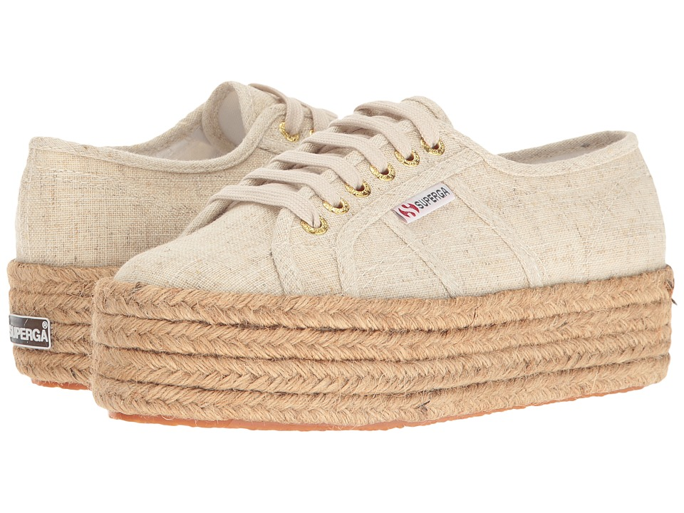 Superga - 2790 Linen Rope (Natural) Women's Shoes