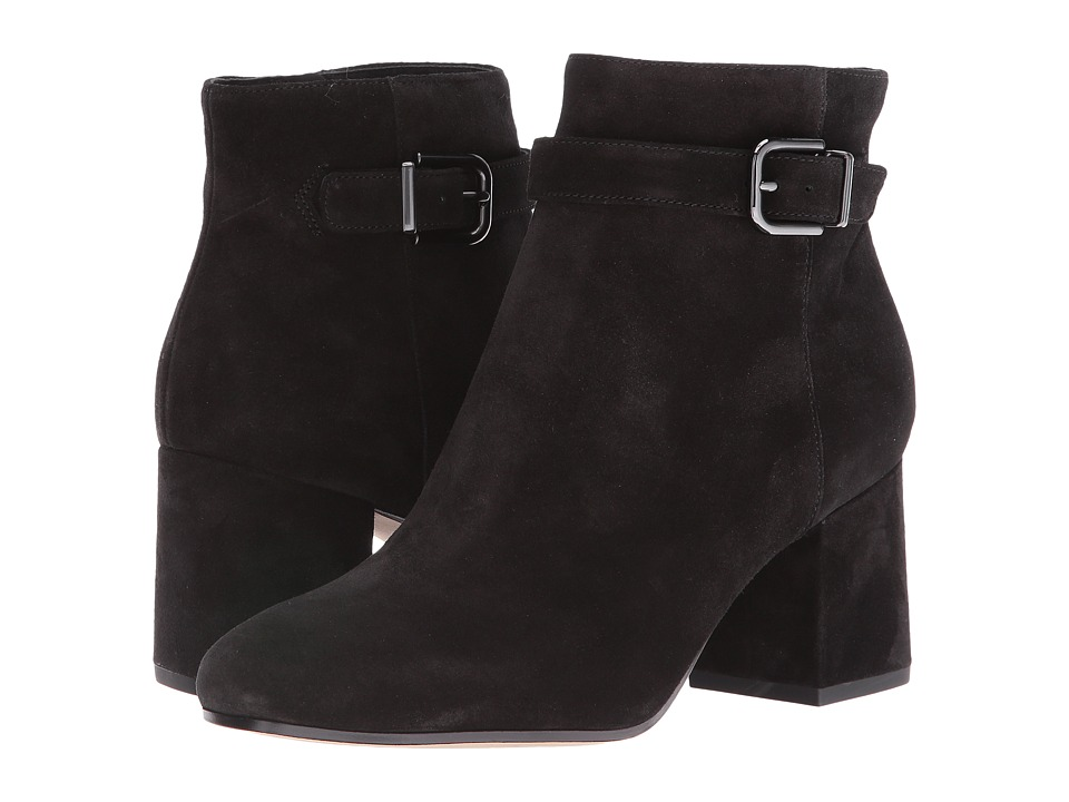 Via Spiga - Maxine (Black Suede) Women's Boots
