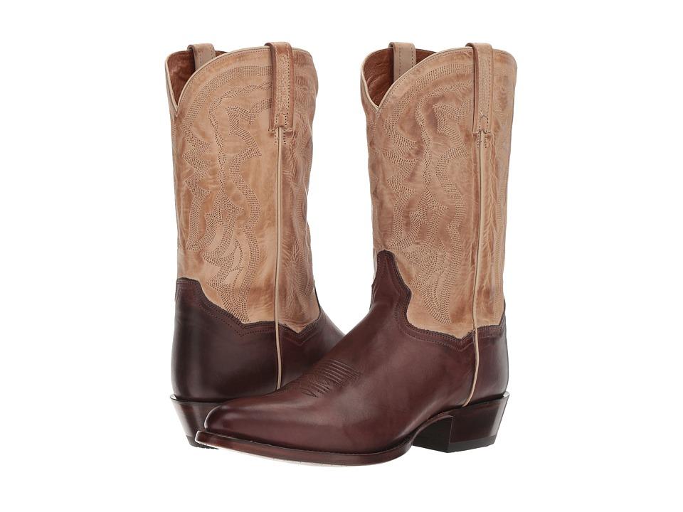 Dan Post - Greer (Brown/Tan) Cowboy Boots