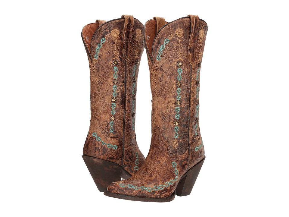 Dan Post Maxi (Tan) Cowboy Boots